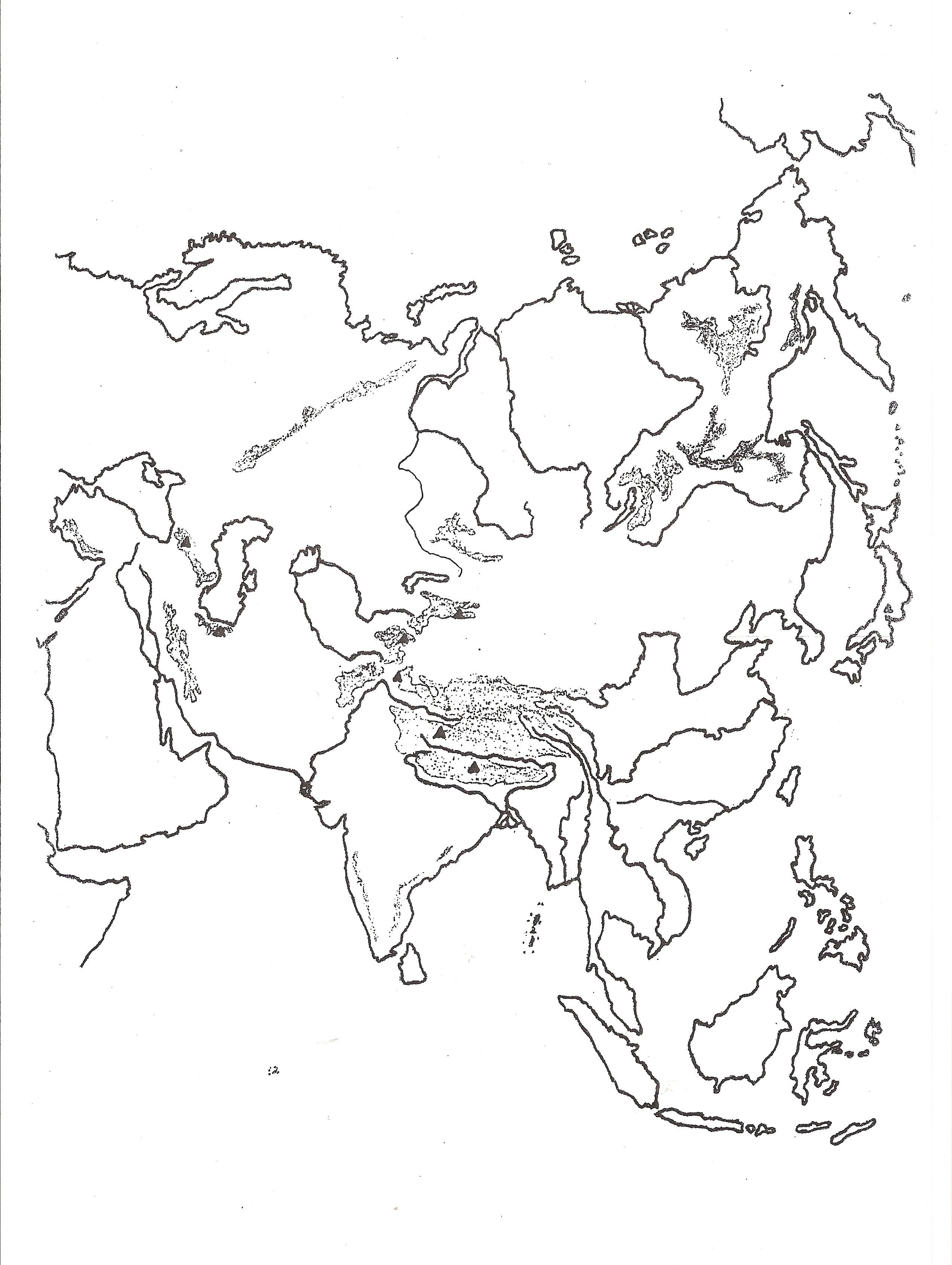 Mapa Mudo De Africa Y Asia.Mapas Flash Interactivos Para Aprender Geografia Enrique