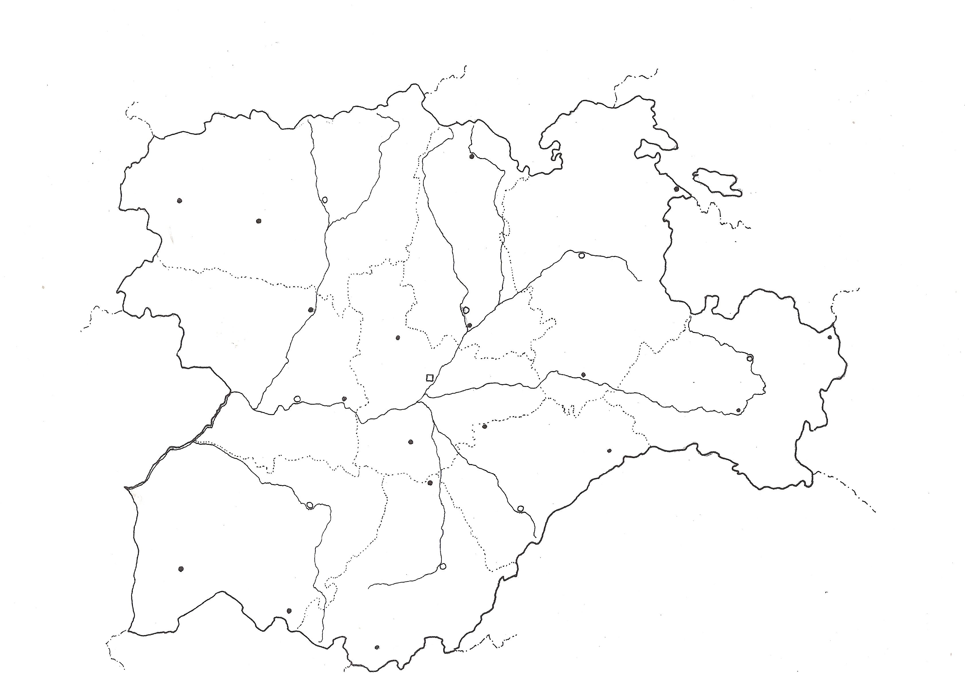 Mapa De España Mudo Rios Para Imprimir.Mapas De Espana Para Descargar E Imprimir Completamente