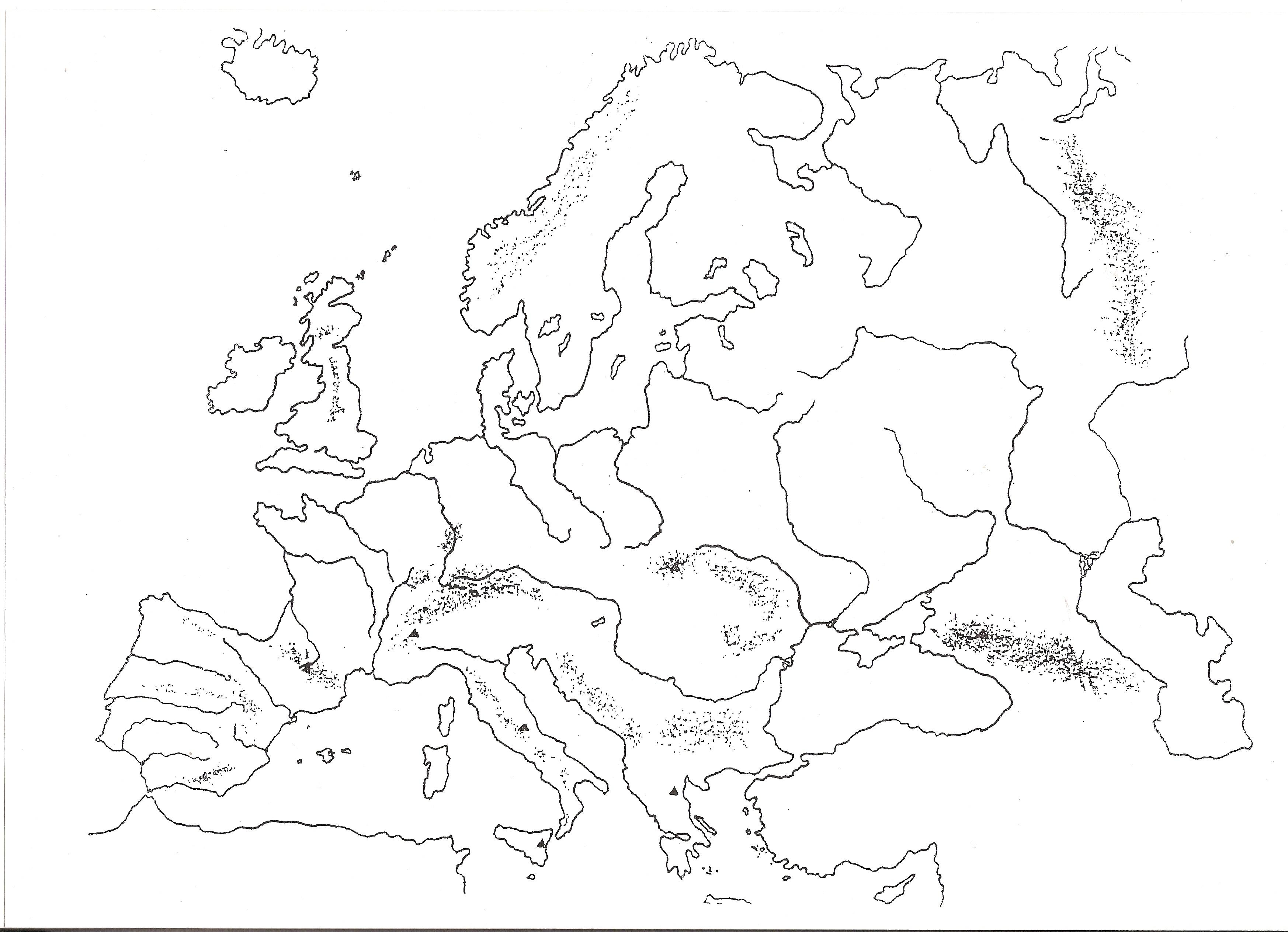 Mapa de Europa ms de 250 imgenes de calidad para imprimir  iOS